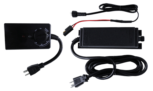 Light Wire Component Power Supply & Photoelectric Timer Kit 500w - Placid Point Lighting - Outdoor LED Lighting Components