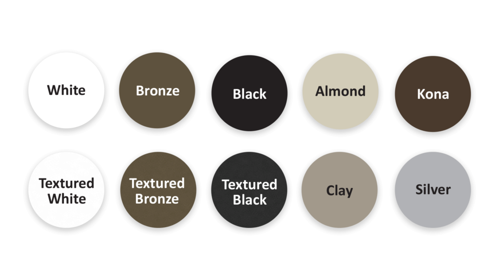 Placid Point Lighting - Outdoor LED Lighting - Color Options - White - Bronze - Black - Almond - Kona - Textured White - Textured Black - Clay - Silver