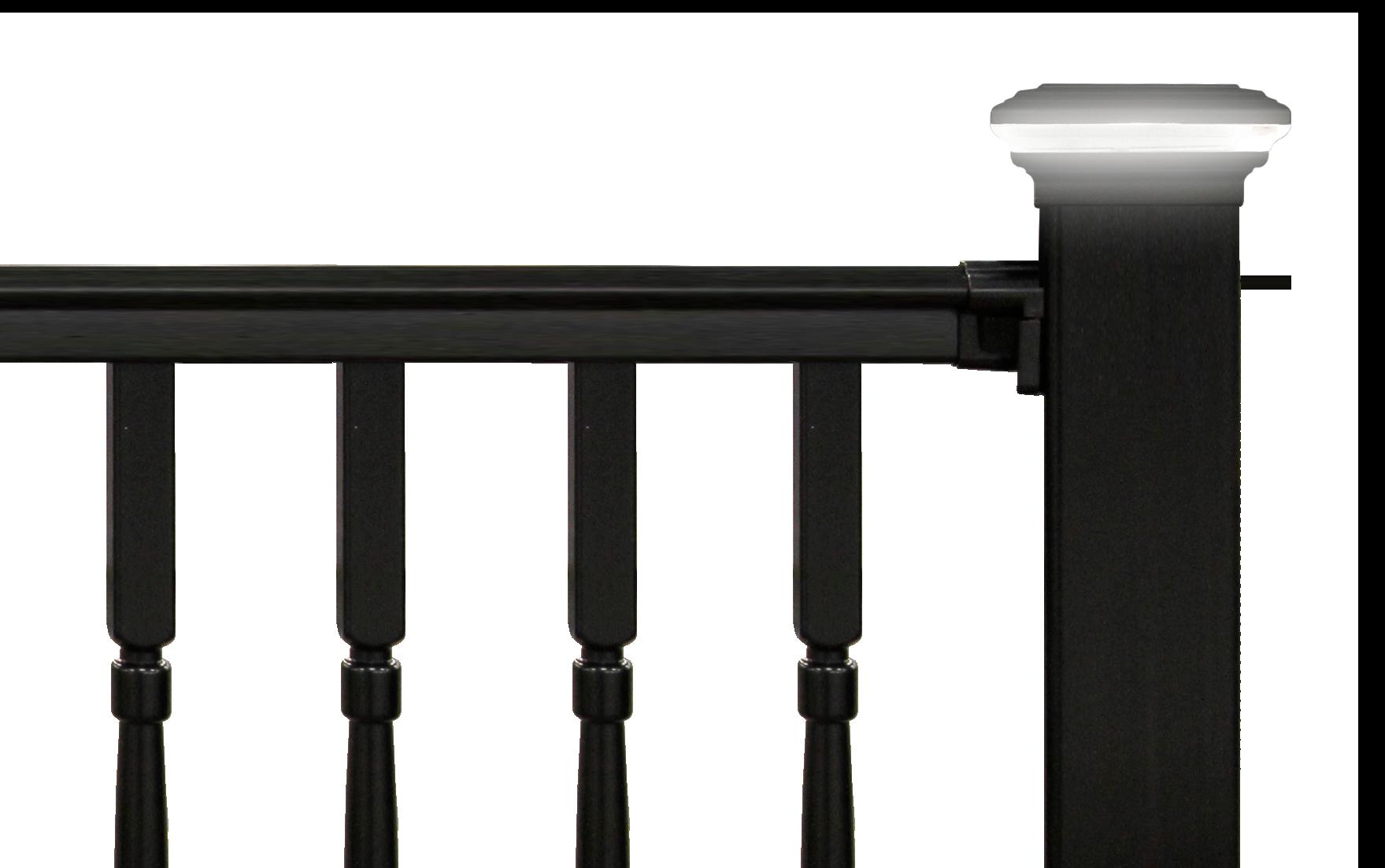High Quality Decorative Post Cap Light on Deck Railing- Placid Point Lighting - Outdoor LED Lighting